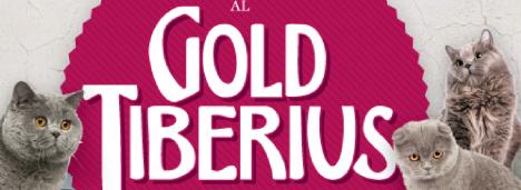 GOLD TIBERIUS